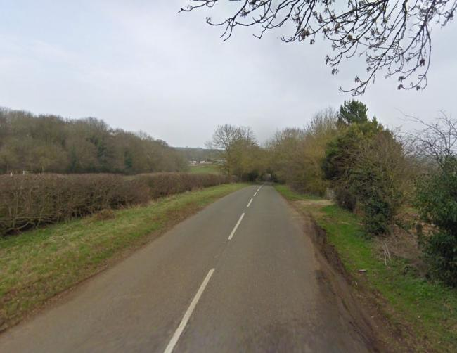 Part of Station Road near Hook Norton. Pic: Google Maps