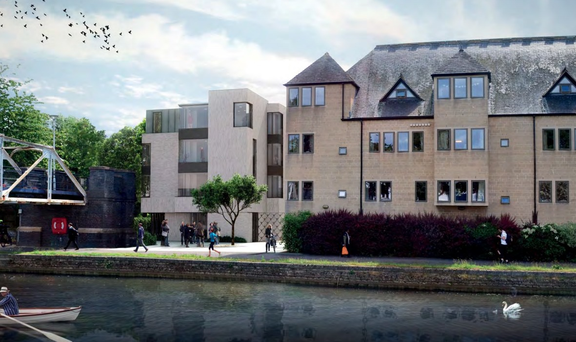 Pembroke College's new plan to increase student rooms in Sir Geoffrey Arthur Building in Oxford