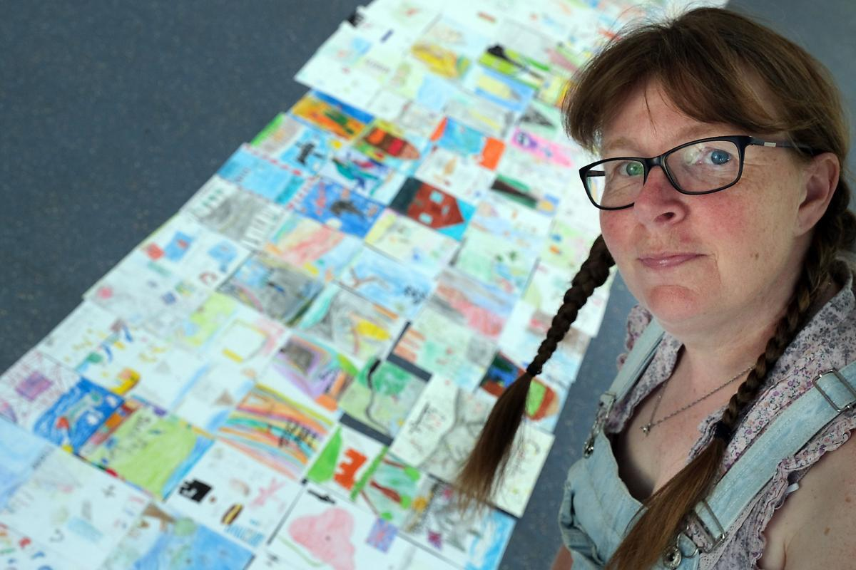 Sue James, from Carterton, is fundraiser, teacher and festival organiser