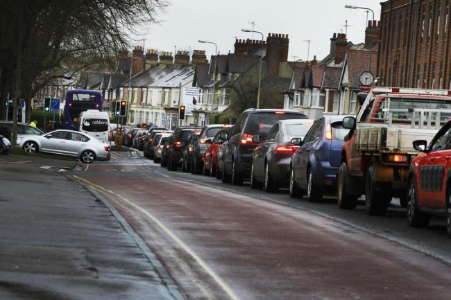Traffic on Botley Road in Oxford (file image)
