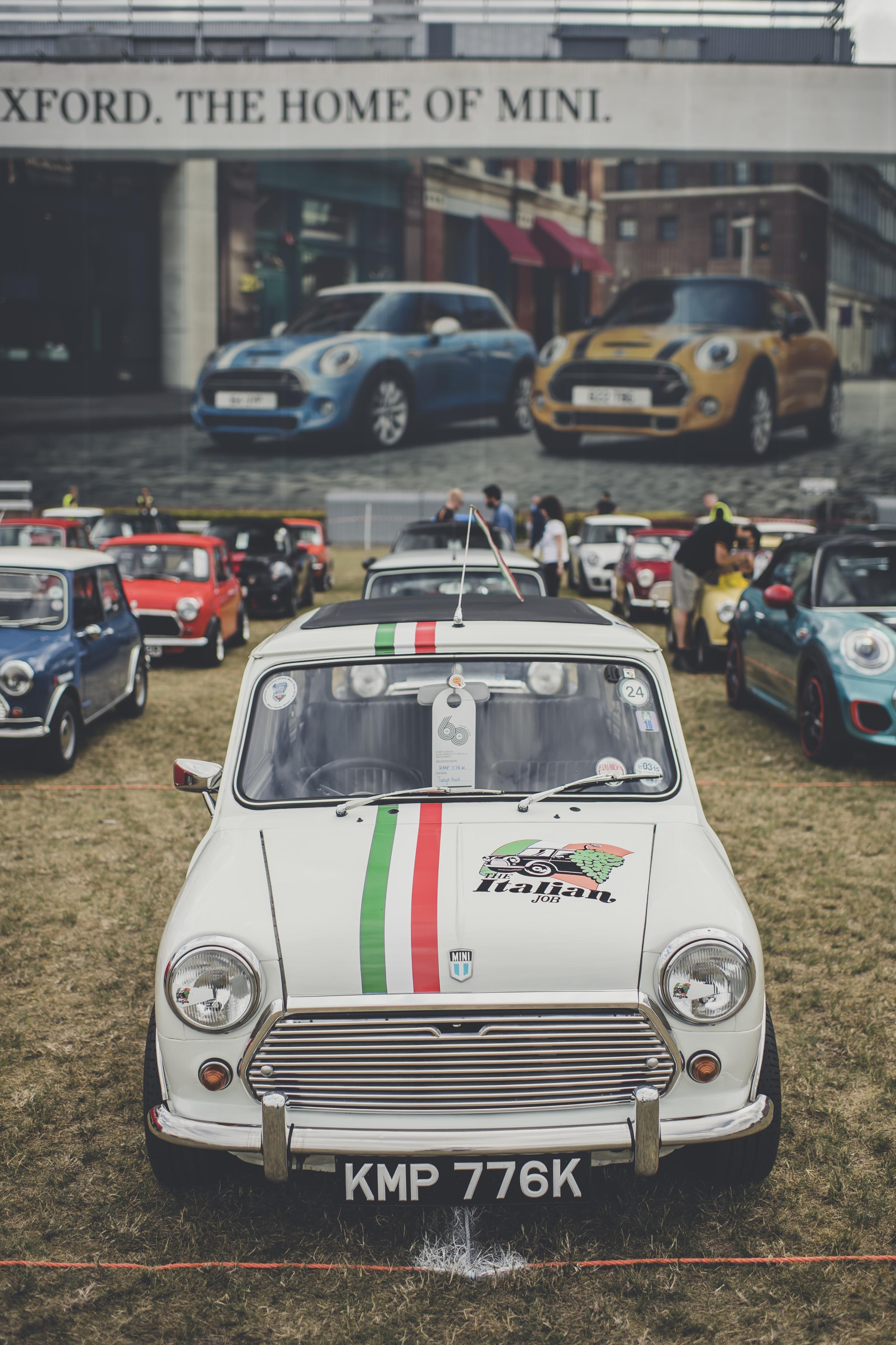 60 Minis gather at brand's 60th anniversary celebrations in Oxford