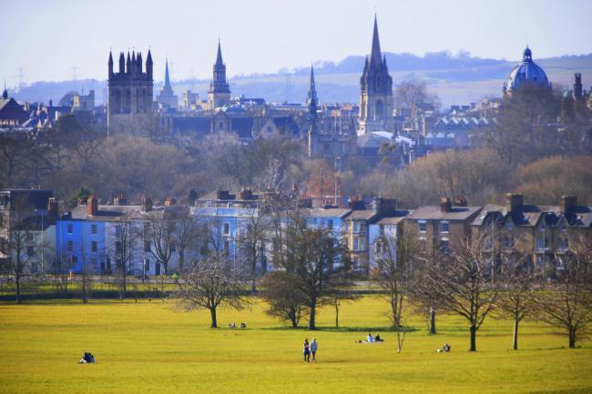 Oxford skyline viewed from South Park Picture: Ed Nix
