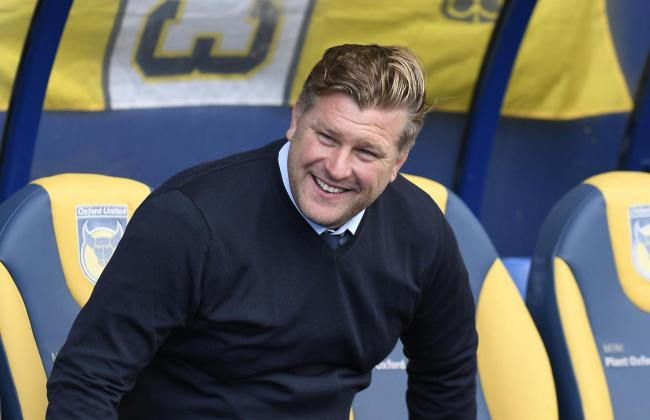Oxford United boss Karl Robinson   Picture: David Fleming