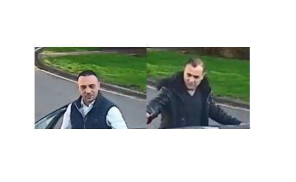 Thames Valley Police hunt for two men captured on CCTV