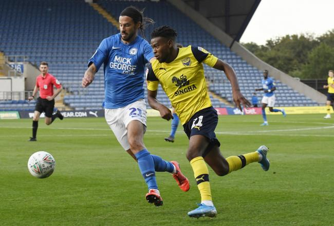 Oxford United are seeking a replacement while Malachi Napa recovers from a broken leg    Picture: David Fleming