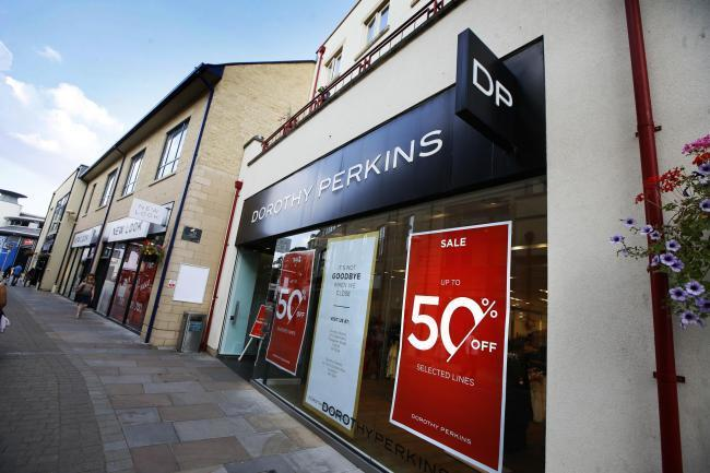 End of the road for Dorothy Perkins' Bicester branch