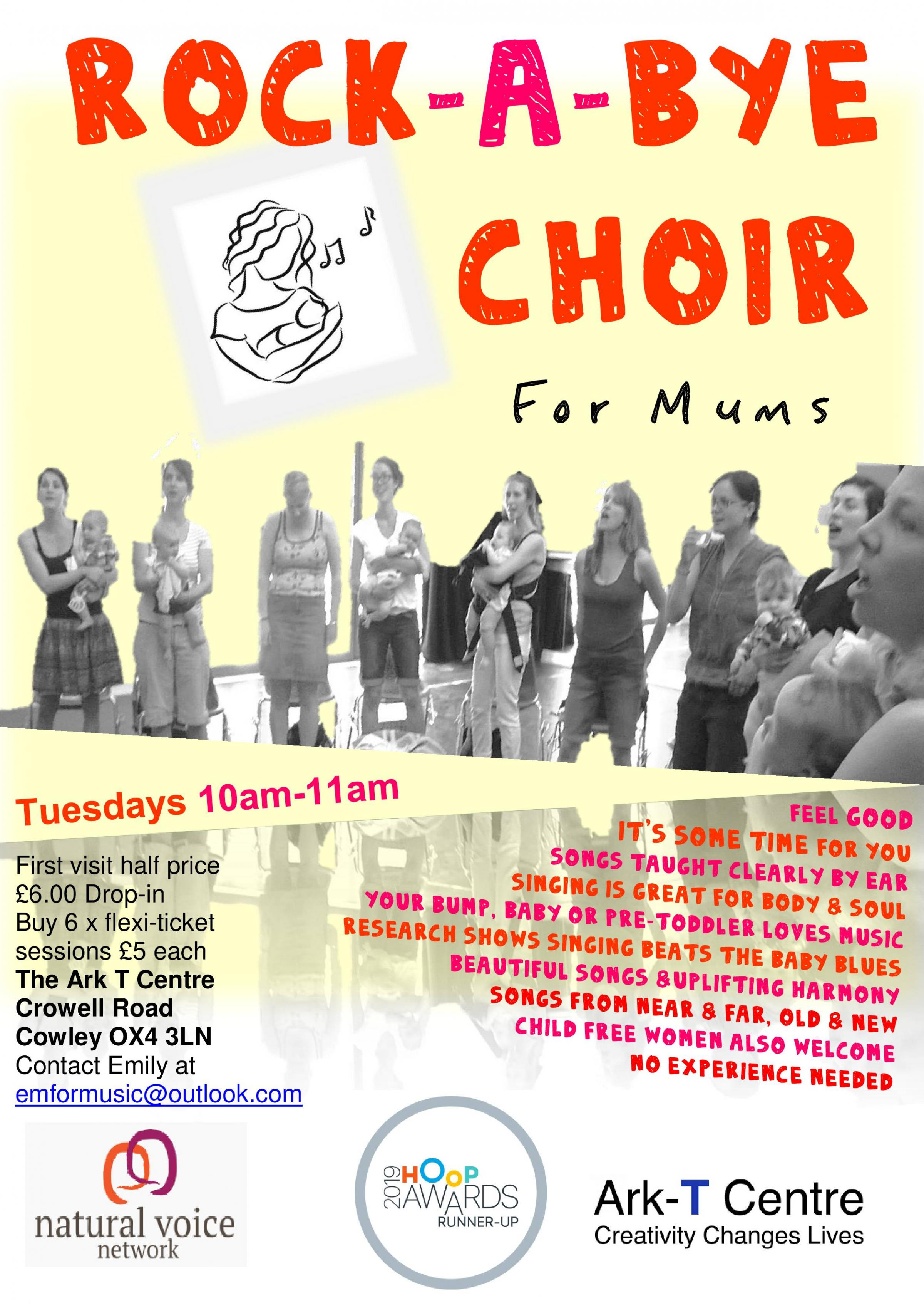 Rock-a-bye Choir for Mums