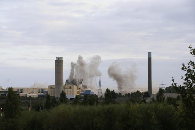 Power cut across Didcot seconds after power station explosion