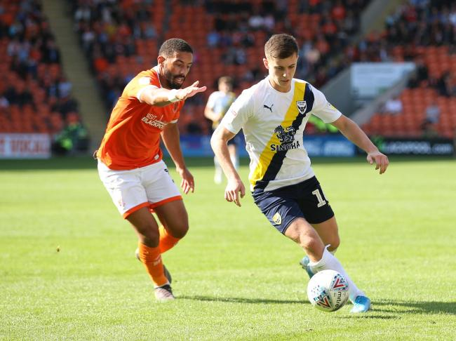 Ben Woodburn (right) has started all four league games for Oxford United this season  Picture: Richard Parkes