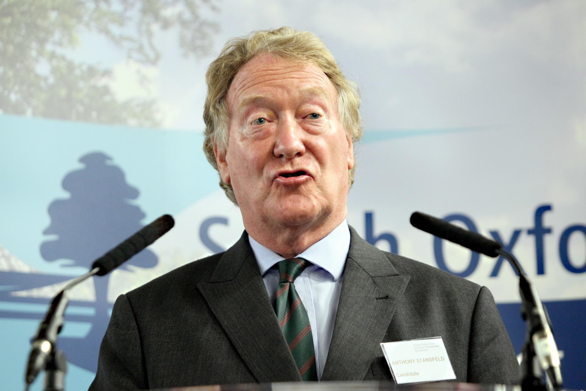 Anthony Stansfeld 'must be held accountable' says Nigel Chapman