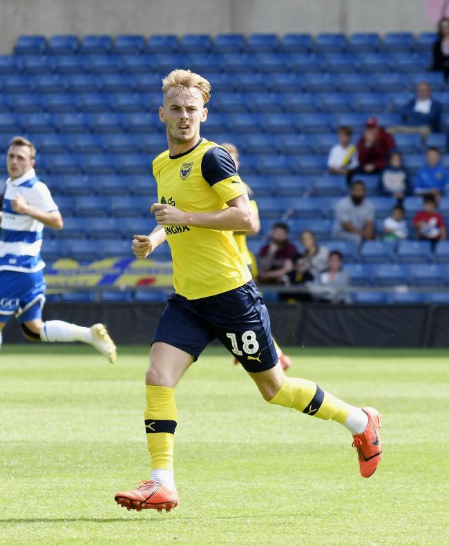 Mark Sykes has not featured for Oxford United in Sky Bet League One this season   Picture: David Fleming