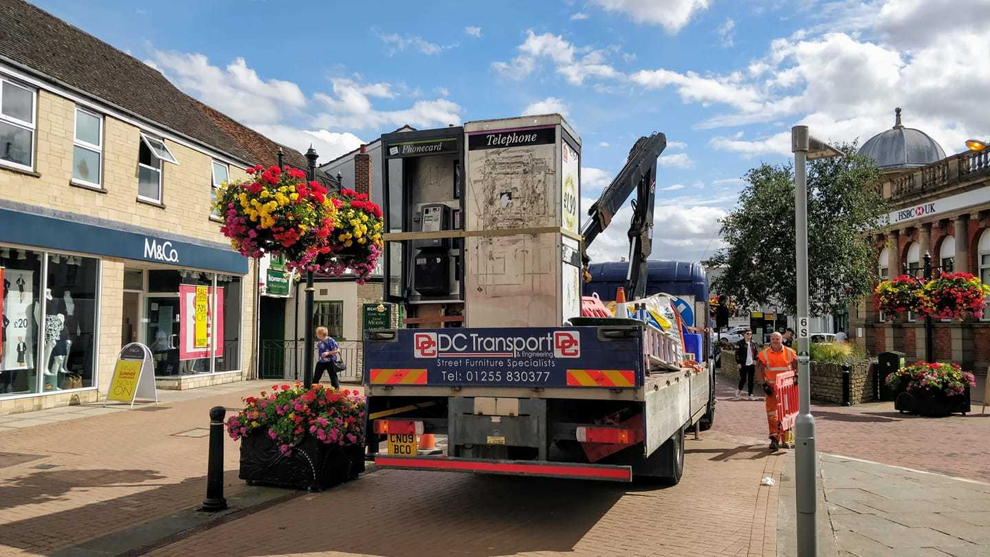 No more phone boxes in Sheep Street, Bicester as BT has other plans