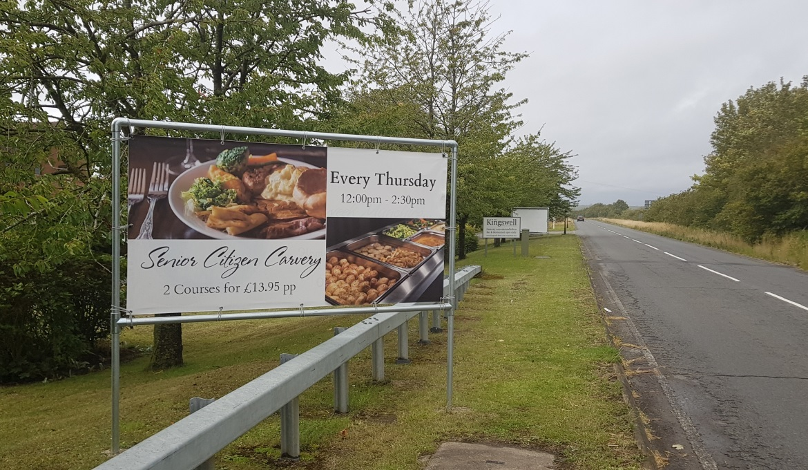 Kingswell Hotel Restaurant, Harwell, seeks approval for new signs