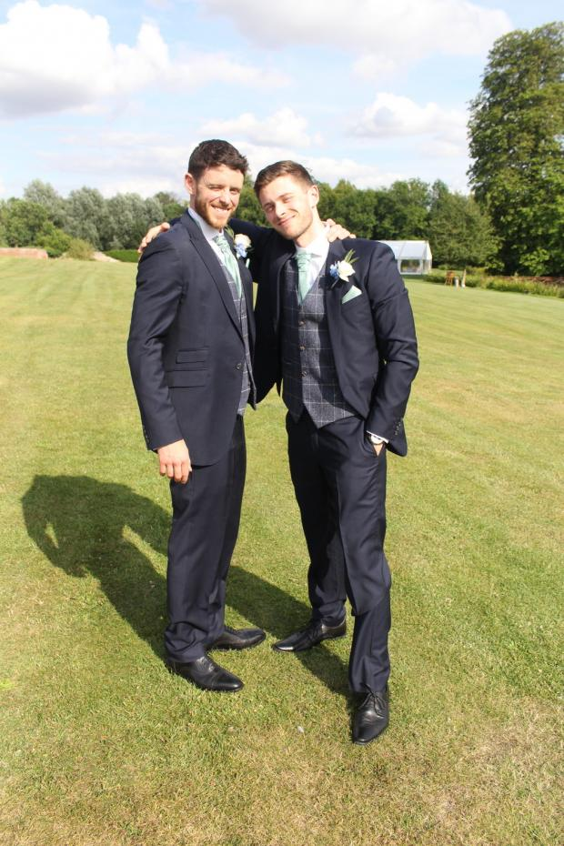Oxford Mail: Andrew Harper and his brother Sean