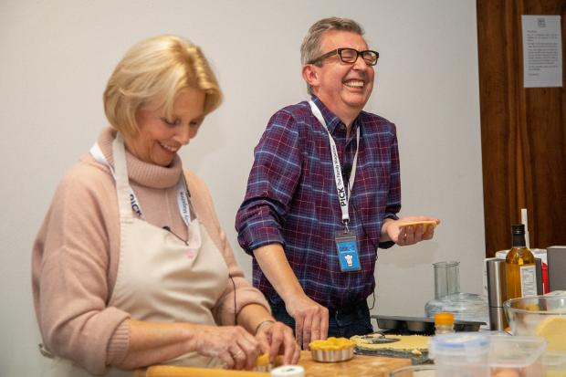 Bake Off fans can see star at food festival