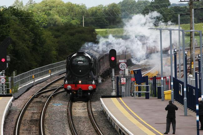 File photo of the Flying Scotsman at Oxford Parkway. Picture: Ed Nix