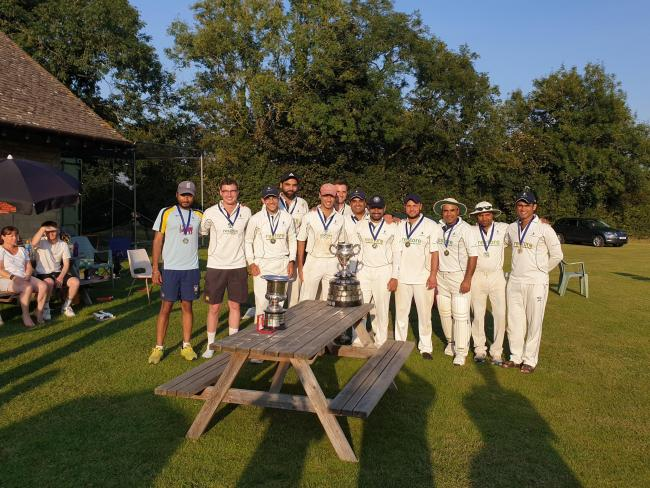 Oxenford celebrate winning the OCA League's Airey Cup