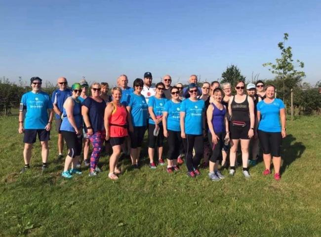 Members from different running groups in Bicester such as Run Together, Jog Squad and Run with Steph & Katy braved the scorching hot weather in honour of PC Andrew Harper. It comes as part of a virtual race to raise money for his family and COPS.