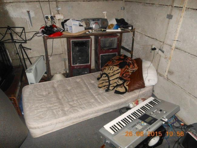 One of the beds in sheds found in 2015 Picture Oxford City Council
