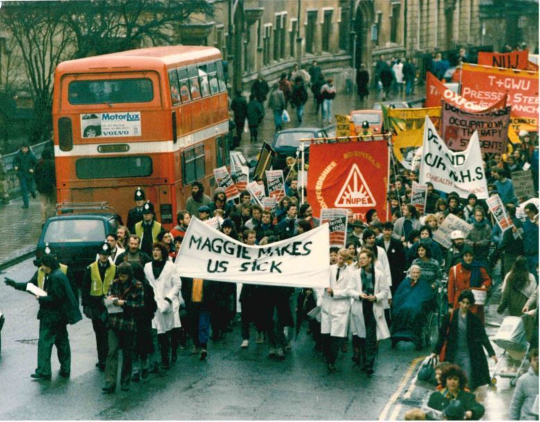 Remember When: March through Oxford city centre opposed health cuts
