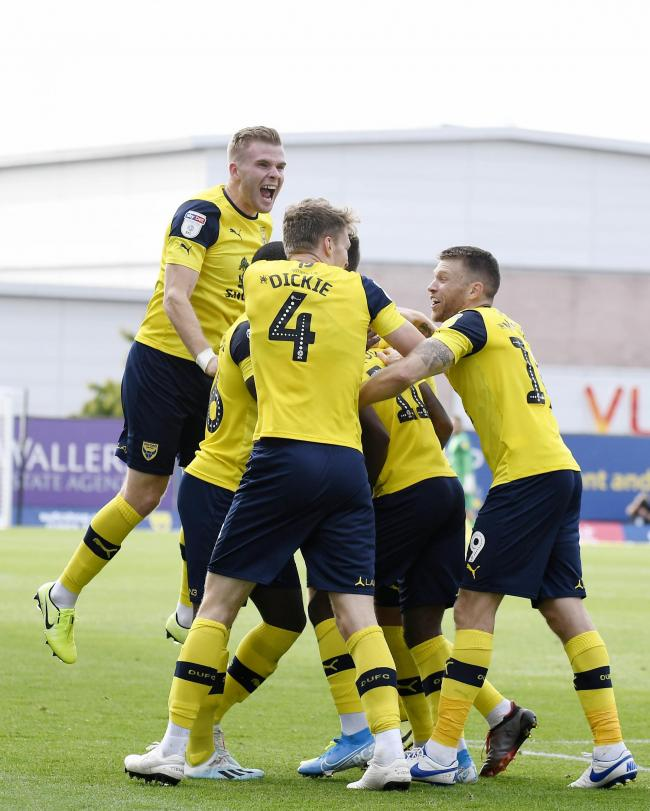 Oxford United's players have been refreshed by an extra day off this week    Picture: David Fleming