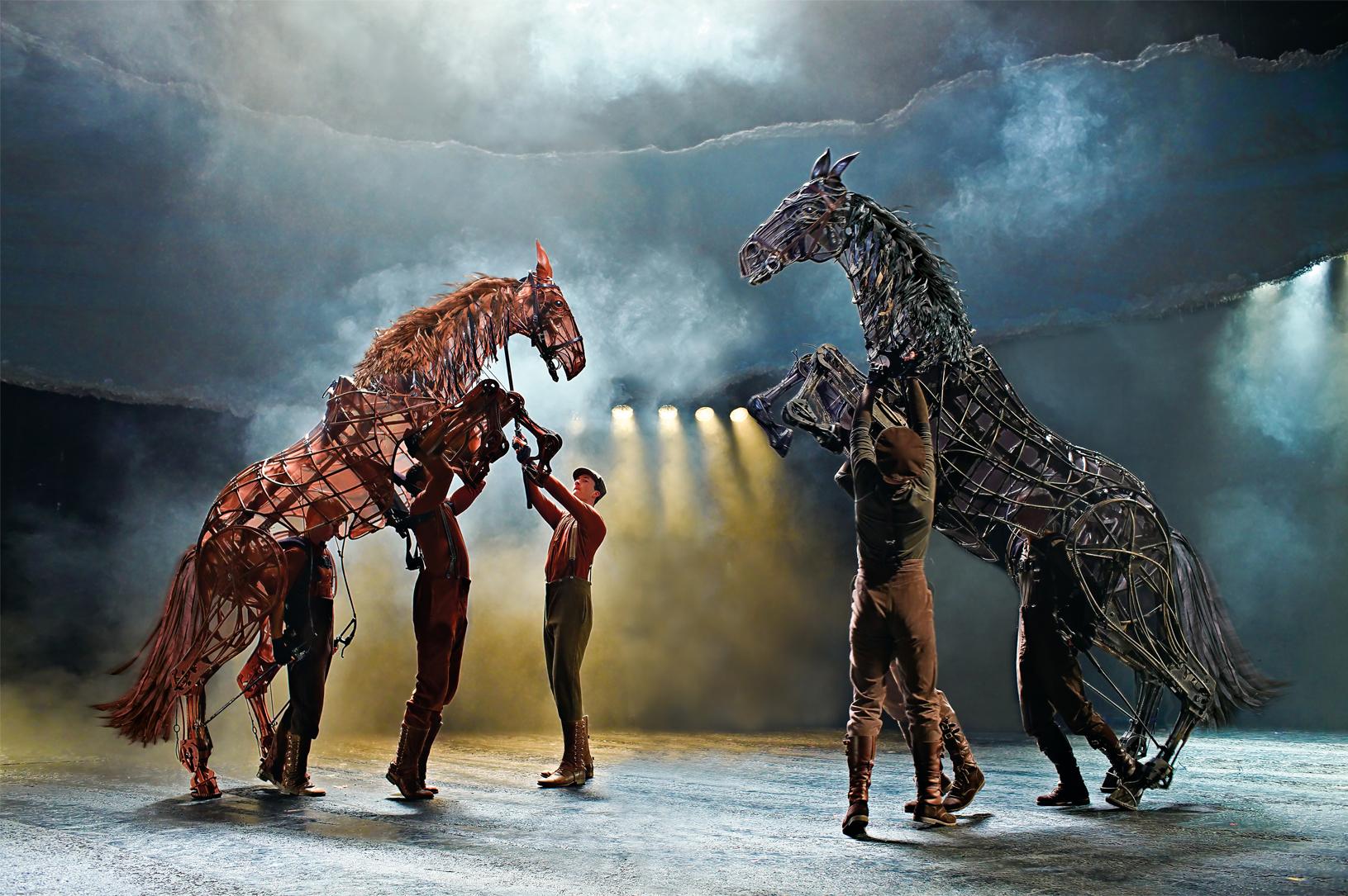 War Horse is back at New Theatre Oxford: Star Scott Miller explains its magic