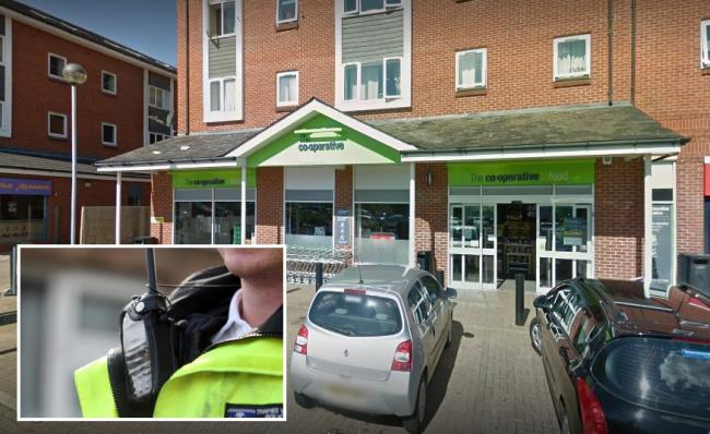 Co-op store in Rotary Way, Banbury. Picture from Google Maps