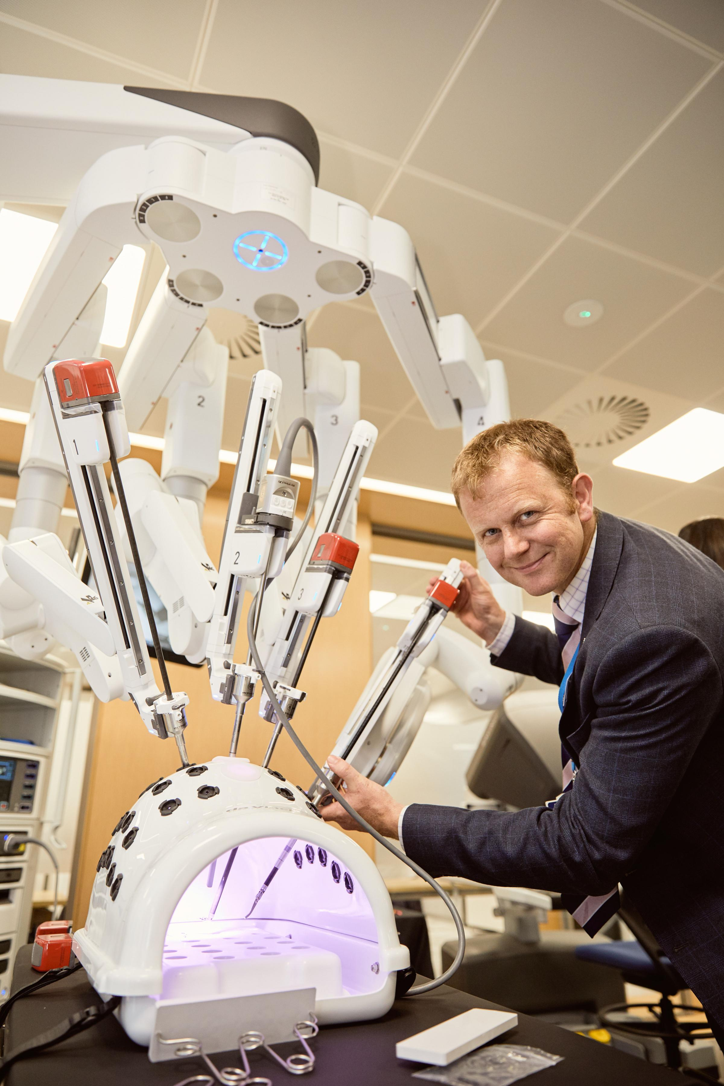 Robot-assisted surgery firm Intuitive open UK HQ in Oxford