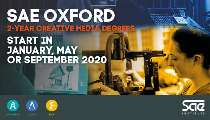 SAE Oxford Creative Media Courses Open Event