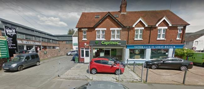 Caprinos pizza takeaway in Cowley Road (pic: Google Maps)