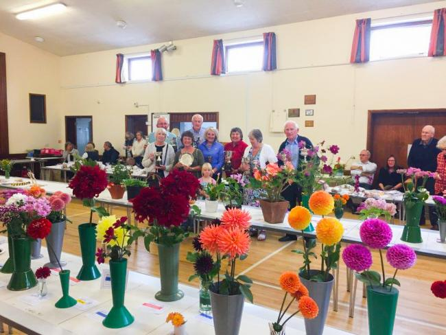 Marsh Gibbon Horticultural Society autumn show 2019.