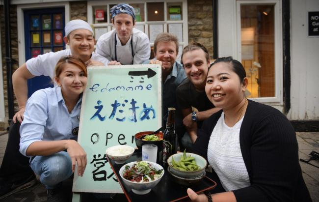 Japanese eatery Edamame celebrates five star rating as it looks forward to reopening