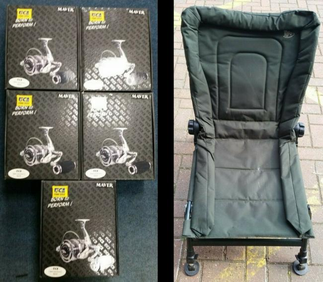 THames Valley POlice are selling a fishing chair and a talisman on their eBay account this week