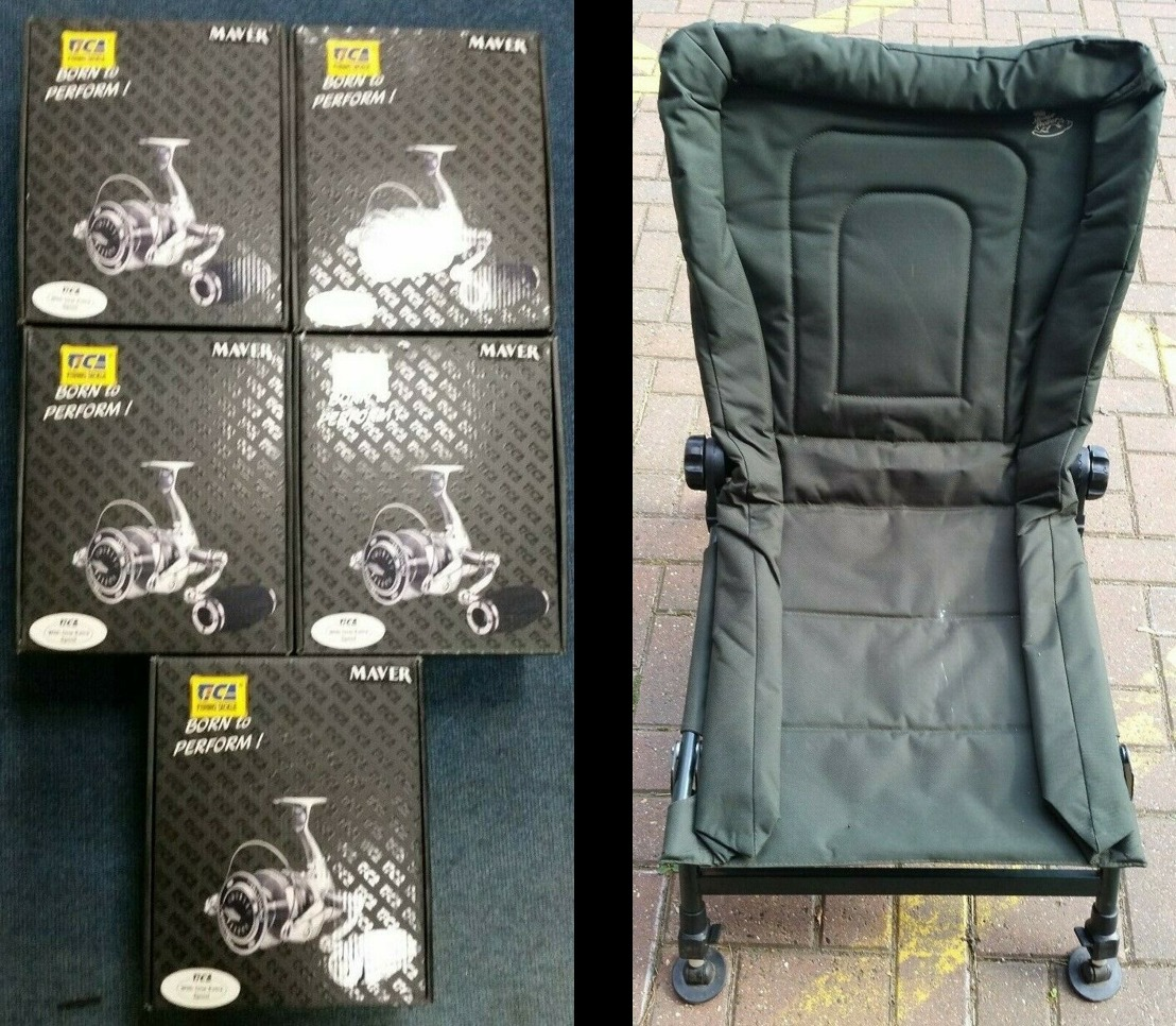 Thames Valley Police are selling a fishing chair on their eBay account this week