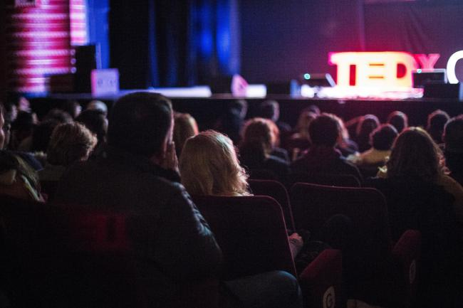 The New Theatre, which will host the awards night. Pictured during TED talks event