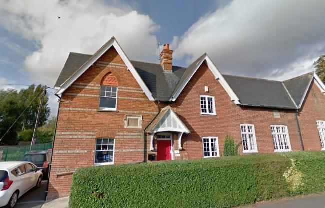 Oxfordshire's smallest primary school - Culham Parochial CofE. Picture: Google Maps