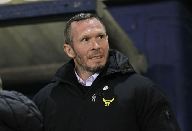 Michael Appleton during his time in charge at Oxford United   Picture: Richard Parkes