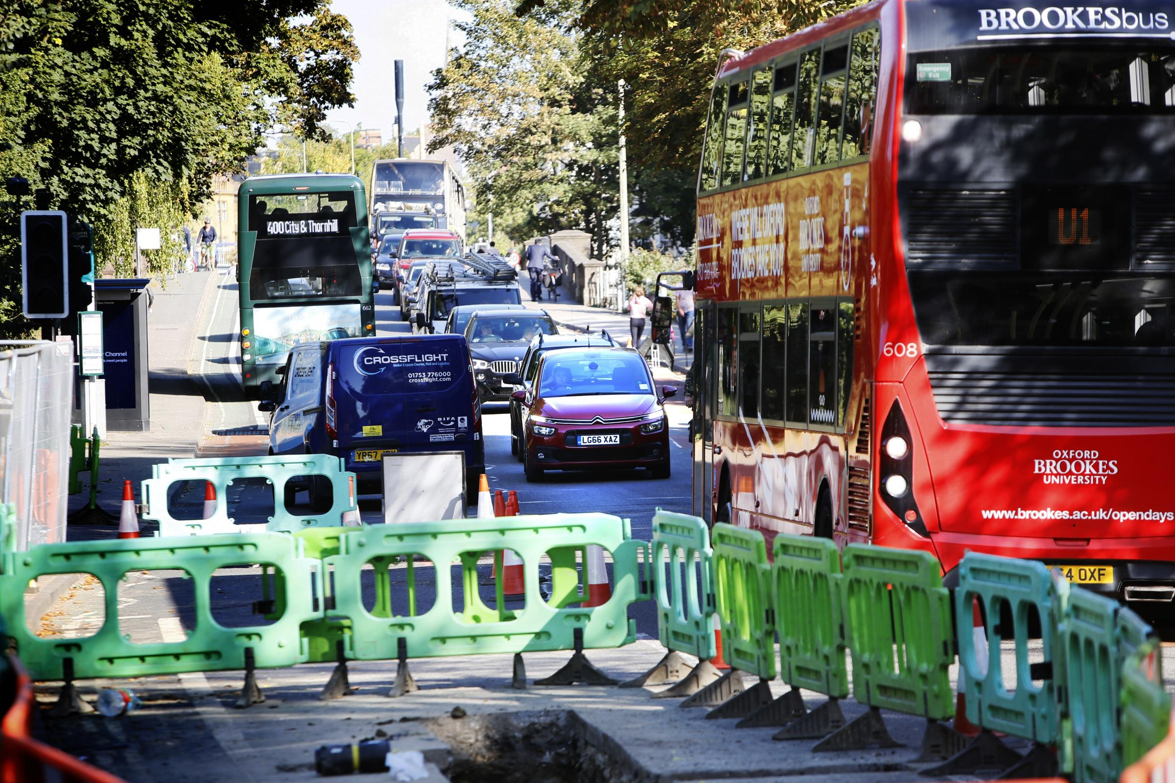 When will SGN's Botley Road works finish in Oxford?