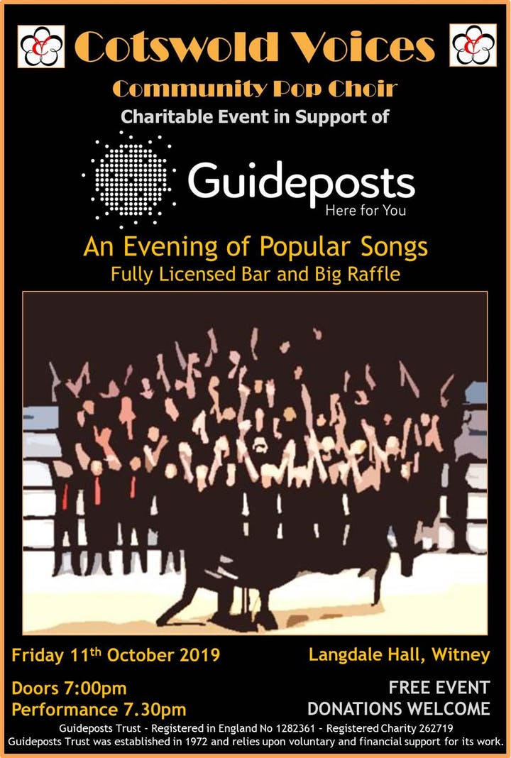 An Evening of Popular Songs with Cotswold Voices Community Choir