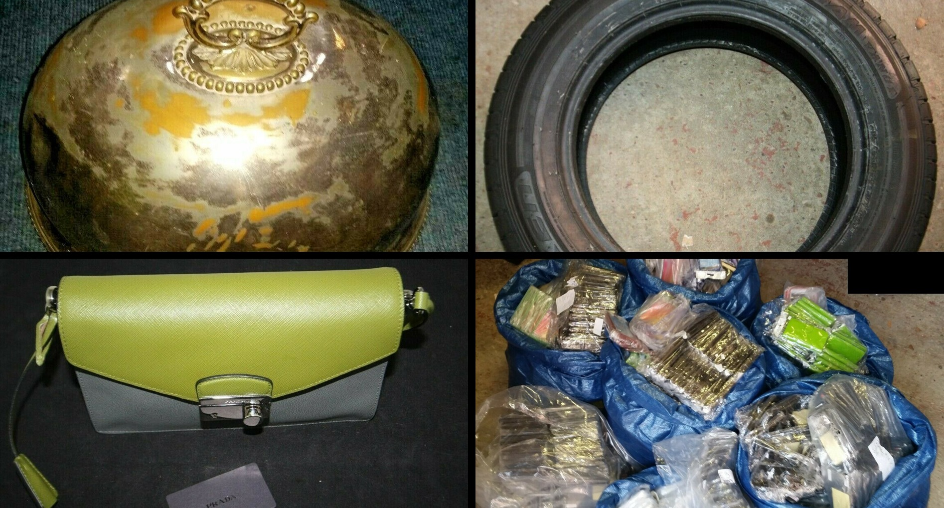 Bargains of the week on Thames Valley Police eBay page