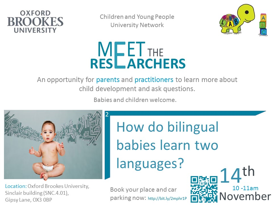 Meet the Researchers - Bilingualism