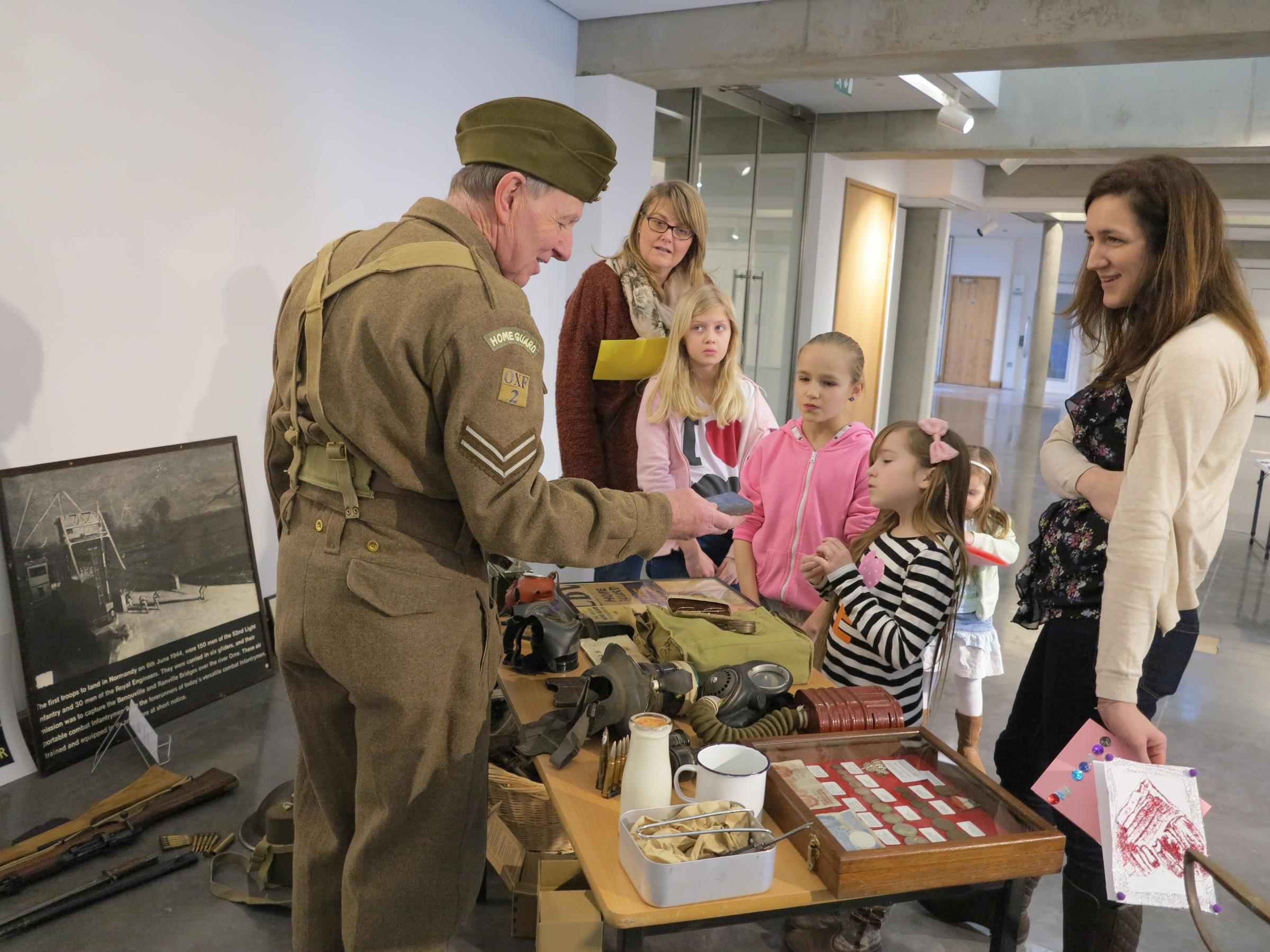 We'll Meet Again Collecting Day at Soldiers of Oxfordshire Museum