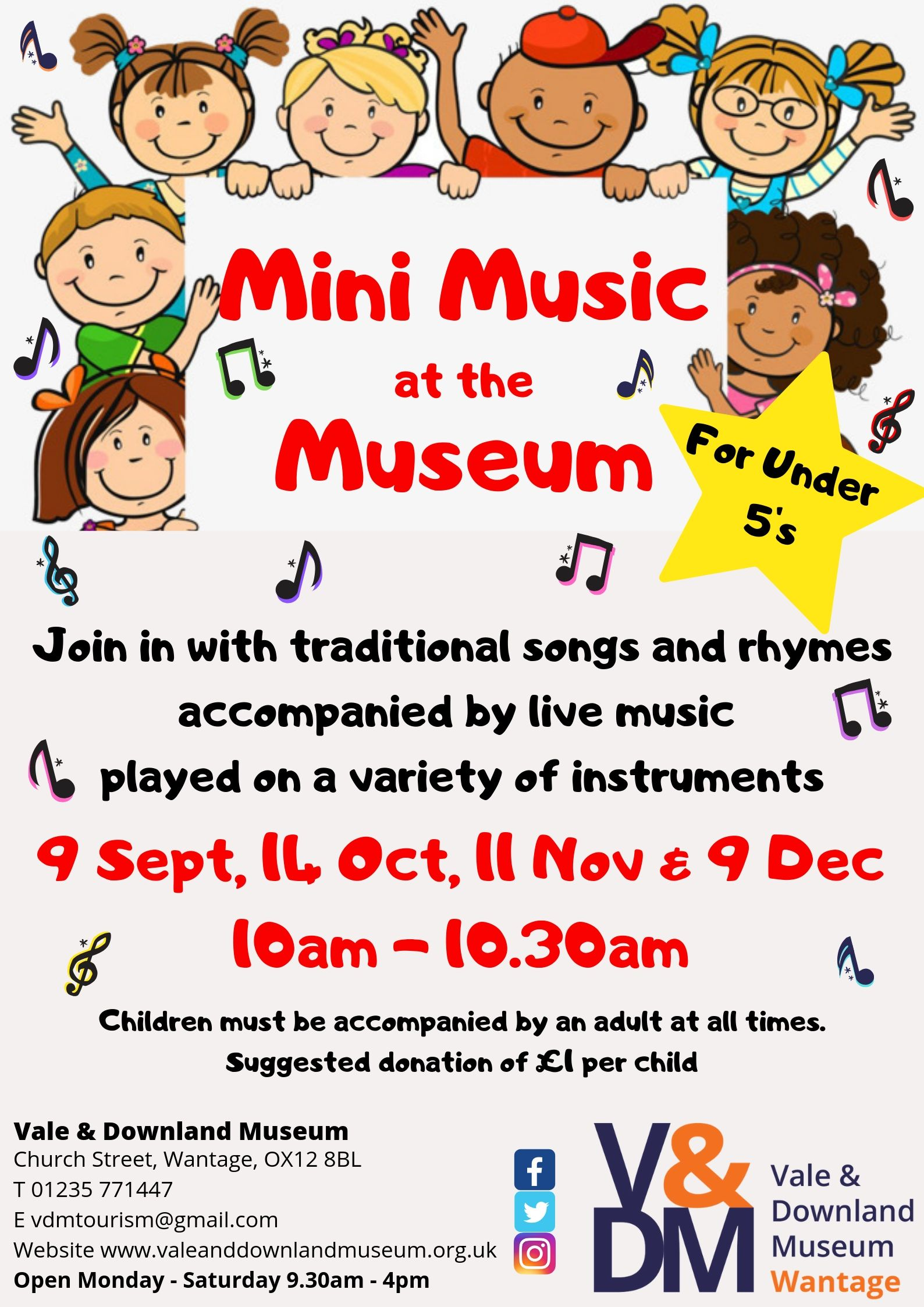Mini Music at the Museum (December)