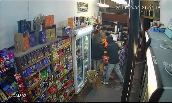 CCTV of armed robbery at Oxford convenience shop