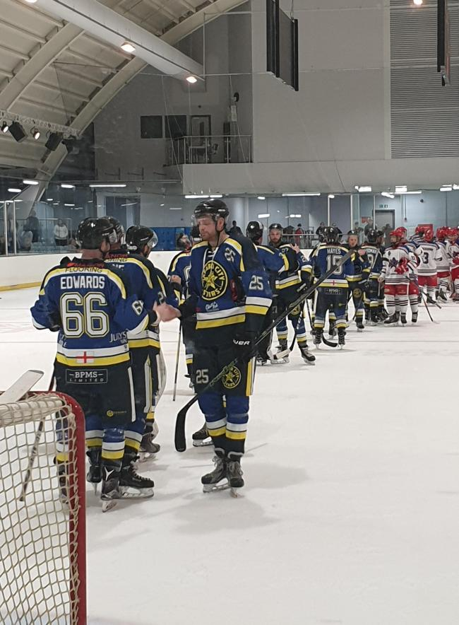 A depleted Oxford City Stars had no answer to Slough's four-goal second period