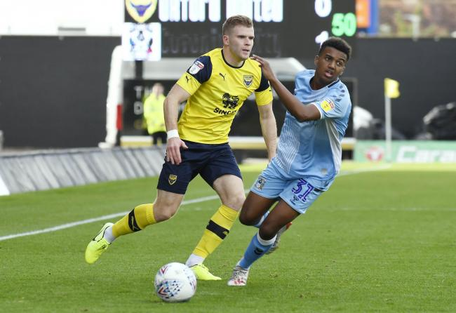 Chris Cadden has been a big hit since joining Oxford United in July  Picture: David Fleming