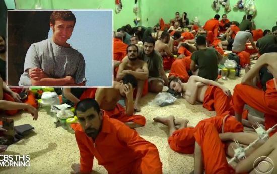 'Jihadi' Jack Letts spotted in Syrian jail on TV