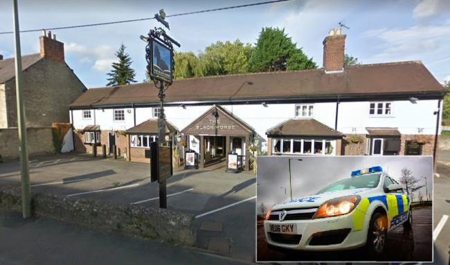 Picture of the Black Horse pub, Kidlington, from Google Maps
