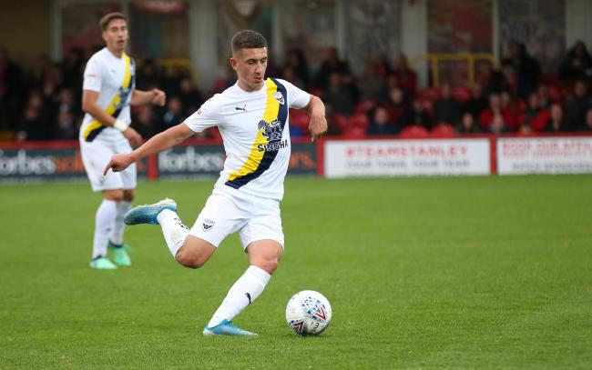 Cameron Brannagan could make his Oxford United return as early as next week Picture: Richard Parkes