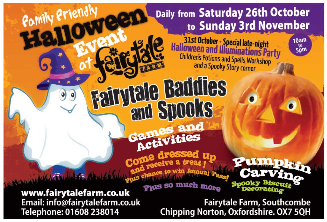 Fairytale Baddies and Spooks 2019